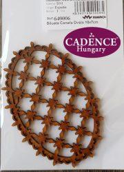 Cadence Spanyol MDF 640006 ovális rácsos
