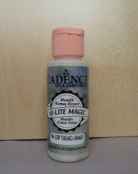 Cadence HI LITE Magic metal festék textilre FM-1339 orange 59ml