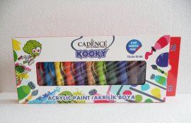 Cadence Kooky Akril festék szett 12*15 ml