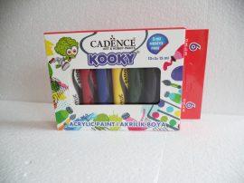Cadence Kooky Akril festék szett 6*15 ml