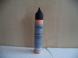 Cadence Top Coat Gaze-szinező folyékony máz_orange 028