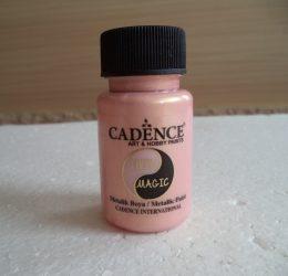 Cadence  TM-15 Twin magic metál festék gold-rose