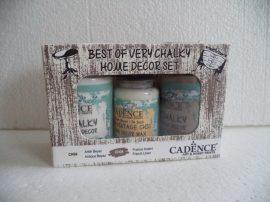 Cadence szett 2 Very Home Decor festék szett 2x90ml + 50ml