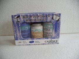 Cadence  szett 7 Very Home Decor festék szett 2x90ml + 50ml