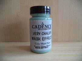 Cadence_WSH08 Very_Chalky_Wash effect_festek_mold green 90ml