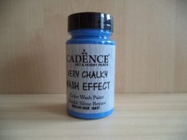 Cadence_WSH09 Very_Chalky_Wash effect_festék_navy kék 90ml