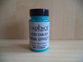 Cadence_WSH15 Very_Chalky_Wash effect_festek_turquise 90ml