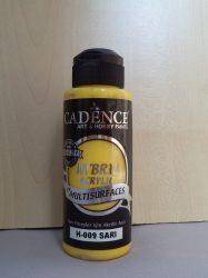 cadence  H-009 akril hybrid festék sárga 120ml