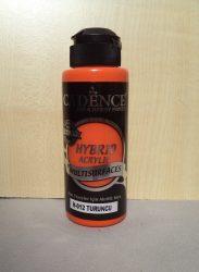 cadence  H-012 akril hybrid festék sötét narancssárga 120ml