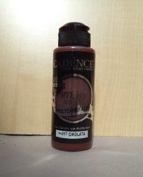 cadence  H-017 akril hybrid festék csokoládé 120ml