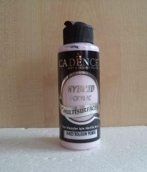 cadence H-023 akril hybrid festék pastel rózsaszín120ml