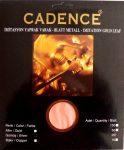 Cadence füstfólia ezüst 16*16cm 25 db/ csomag