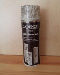 Cadence márvány effect  spray fekete 1db