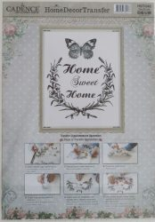 cadence Home  Decor transfer matrica 25*35cm  HDT-042