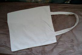 Cadence nagy textil táska fehér  41*41cm
