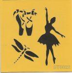 ITD stencil 16*16cm ST0022