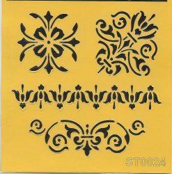 ITD stencil 16*16cm ST0024