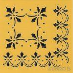 ITD stencil 16*16cm ST0036 B
