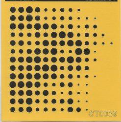 ITD stencil 16*16cm ST0039