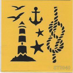 ITD stencil 16*16cm ST0040