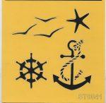 ITD stencil 16*16cm ST0041
