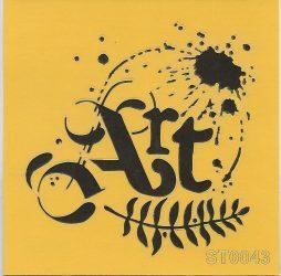 ITD stencil 16*16cm ST0043