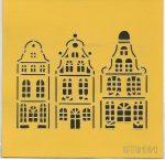 ITD stencil 16*16cm ST0101