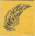 ITD stencil 16*16cm ST0103A