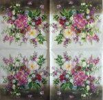 szalvéta 12A_bouquet naturel