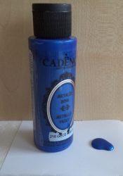 Cadence metal festék 218 sötét kék 70ml