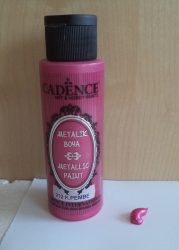 Cadence metal festék 212 dark pink 70ml