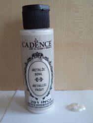 Cadence metal festék 201 pearl 70ml