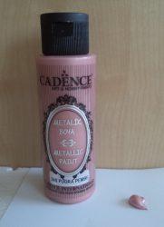 Cadence metal festék 240 puder pink 70ml