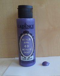 Cadence metal festék 209 purple lila 70ml