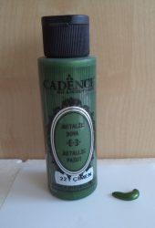 Cadence metal festék 221 sötét zöld 70ml
