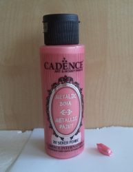 Cadence metal festék 207 sugár pink 70ml