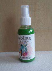 Cadence Your Fashion textil spray 1112 green zöld 100ml