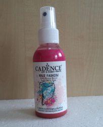 Cadence Your Fashion textil spray 1104 fushia 100ml