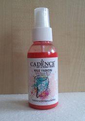 Cadence Your Fashion textil spray 1107 scarlet piros 100ml
