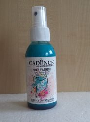 Cadence Your Fashion textil spray 1116 sötét türkiz 100ml