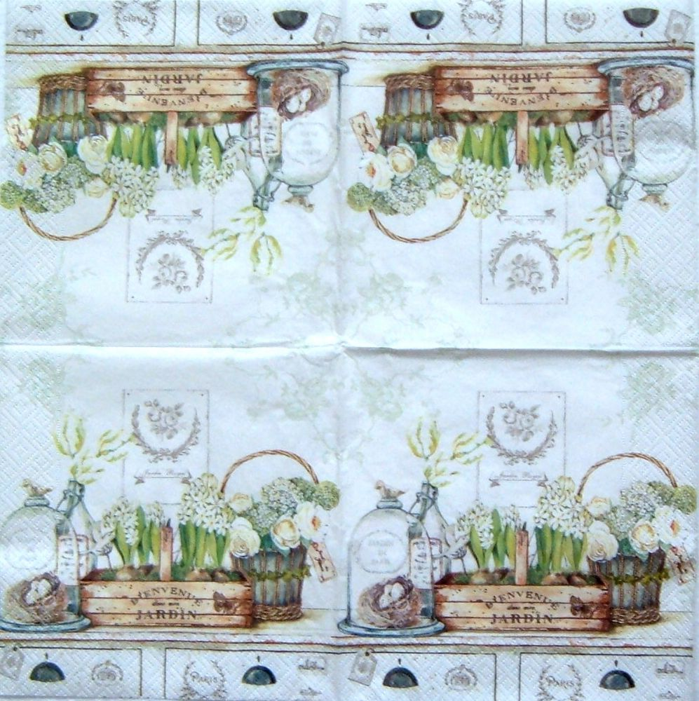 Szalv ta 12a jardin royal szalv ta s decoupage ruh z for Jardin royal niort