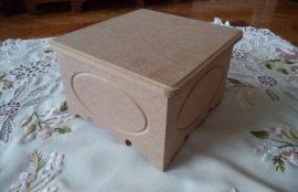 Cadence négyszögletes doboz KT-82 15*15*10