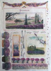 Renkalik rizspapír 49*35 Provence 019