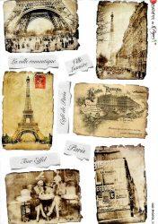 paperdesigne rizspapír A4 oldph 0086