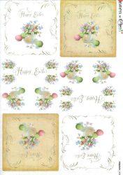 paperdesigne rizspapír A4 holi-0087