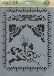 cadence stencil sablon série A4   AS-575 21*29
