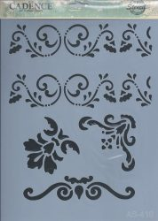 cadence stencil sablon série AS-410 A4 21*29
