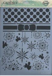 cadence stencil sablon série AS-445 A4 21*29