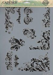 cadence stencil sablon série A4   AS-478 21*29