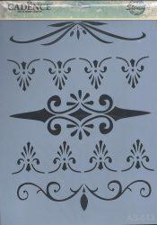 cadence stencil sablon série AS-513 A4 21*29